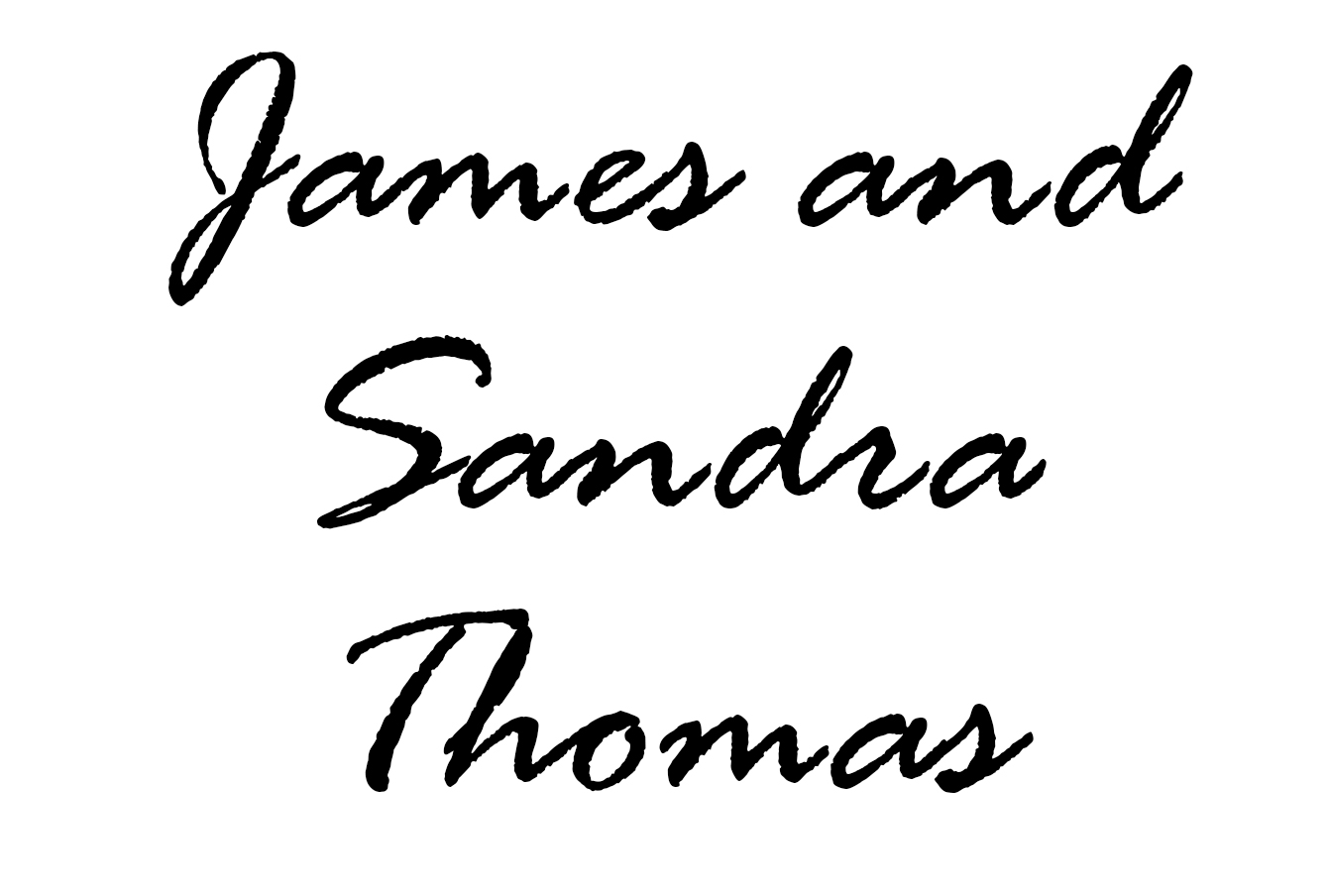 James & Sandra Thomas