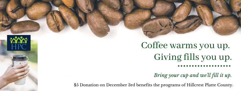 Giving Tuesday 2019- Coffee for Donation