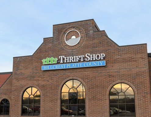 One of the thrift stores that Hillcrest offers the public
